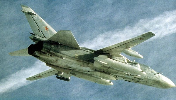 MILAVIA Aircraft - Sukhoi Su-24 Fencer - Picture Gallery