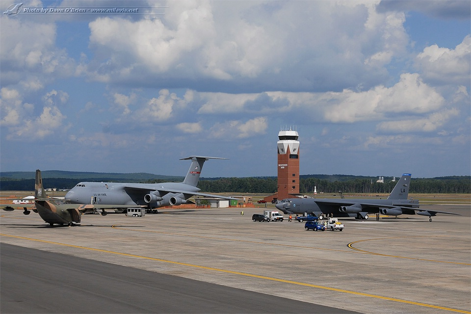 The Great New England Air Show 2012 - Westover ARB ramp