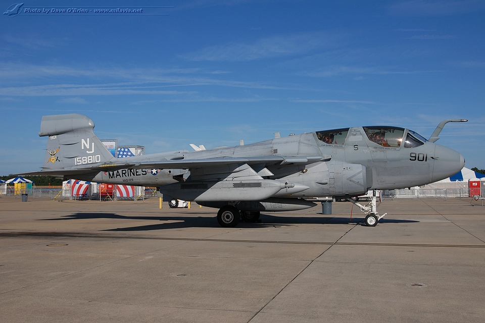 NAS Oceana Air Show 2012 - EA-6B Prowler of VAQ-129 ...