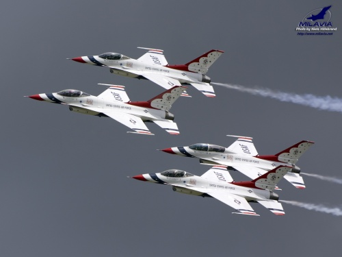 USAF Thunderbirds Wallpaper