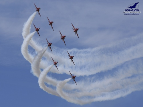 aircraft wallpaper. Red Arrows Wallpaper