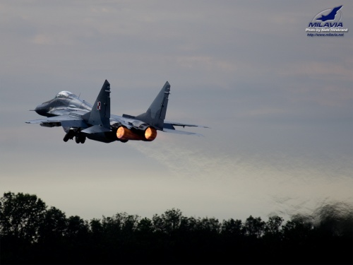 Polish MiG-29 Fulcrum Wallpaper