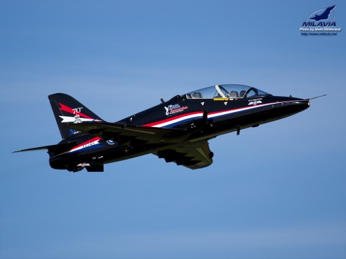 RAF Hawk Solo Display Wallpaper
