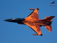 RNLAF F-16 Demo Team