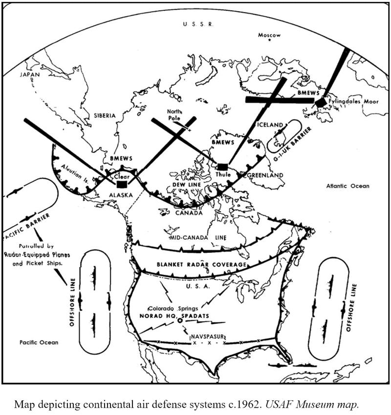 North American Aerospace Defense Command Norad 60th Anniversary