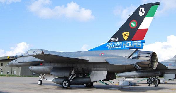 MILAVIA Military Aviation Specials - Italian Air Force F-16 40,000 ...