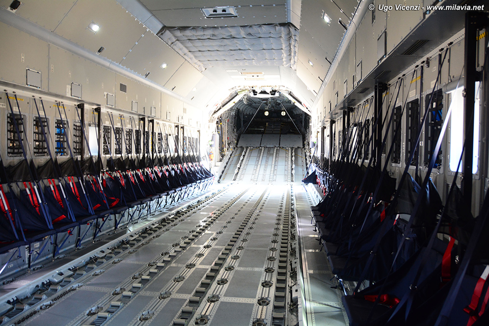 A400M interior - First A400M of the Ejército del Aire