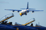 USN Blue Angels and Fat Albert returning to Brunswick