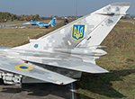 Overhauled Ukrainiian Air Force exercises with US F-15s and NATO F-16s