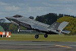 USAF F-35A Lightning IIs at RAF Lakenheath