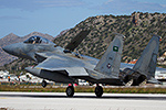 Royal Saudi Air Force F-15C/D Eagles deployed to Crete
