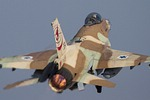 Israeli F-16s training with Greek F-16s, F-4s, and Mirage 2000s and USAFE F-15s