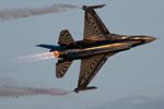 Belgian F-16AM @ Koksijde Sunset Show