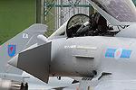 RAF 6 Sqn Typhoon FGR.4 arrival