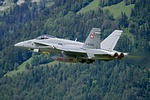 Swiss Air Force F/A-18 Hornet @ Meiringen Air Base, Switzerland