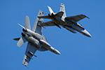 NAS Oceana F/A-18 Hornets demo 2012