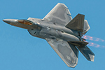 USAF F-22 as well as B-52 visited the Canadian transport wing