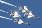 Rhode Island Air Show featuring the USAF Thunderbirds