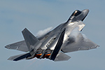 F-22 Raptor Demo 2014 at Quonset State Airport