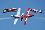 Canadian Snowbirds display team @ Rhode Island