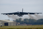 B-52H Stratofortress taking off from RAF Fairford