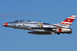 Line-up included the F-100 Super Sabre!