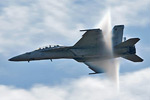 US Navy F/A-18F Super Hornet Demo @ Westover ARB